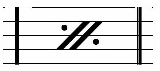 楽典省略記号を覚えよう 省略記号一覧 音楽力の泉